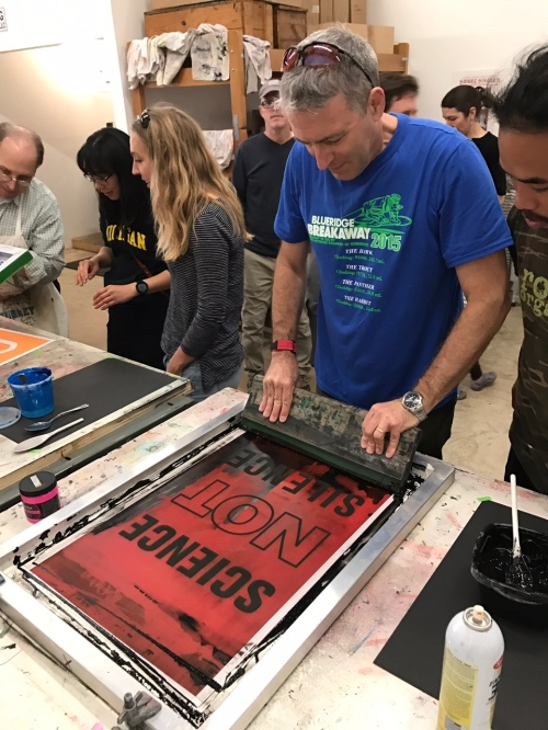 Scientist printing