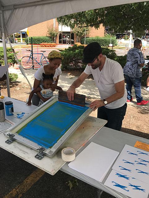 WEB_CenterFest Arts Festival printing